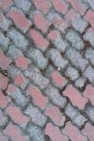 Παλαιό πεζοδρόμιο στην πόλη Στοκ φωτογραφίες με δικαίωμα ελεύθερης χρήσης