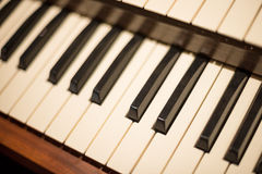 παλαιό πιάνο Στοκ φωτογραφία με δικαίωμα ελεύθερης χρήσης