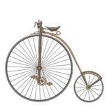 Παλαιό ποδήλατο μόδας διακοσμήσεων Στοκ Εικόνα
