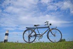 Παλαιό ποδήλατο, παλαιό ποδήλατο στην Ταϊλάνδη Στοκ Εικόνες