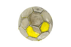 Παλαιό ποδόσφαιρο στοκ εικόνα