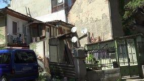 Παλαιό προαύλιο στη Βάρνα bulblet φιλμ μικρού μήκους