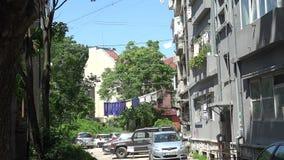 Παλαιό προαύλιο στη Βάρνα bulblet απόθεμα βίντεο