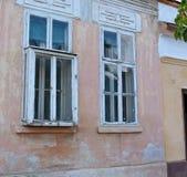 Παλαιό προεξέχον παράθυρο στοκ εικόνα με δικαίωμα ελεύθερης χρήσης