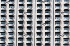 Παλαιό πρότυπο του μπαλκονιού ξενοδοχείων Στοκ φωτογραφίες με δικαίωμα ελεύθερης χρήσης