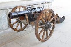 Παλαιό πυροβόλο στο Izmailovo Κρεμλίνο Στοκ εικόνα με δικαίωμα ελεύθερης χρήσης