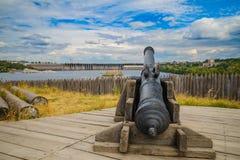 Παλαιό πυροβόλο χυτοσιδήρων Στοκ Εικόνες