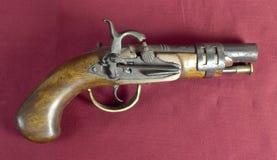 Παλαιό πυροβόλο όπλο Στοκ Φωτογραφίες