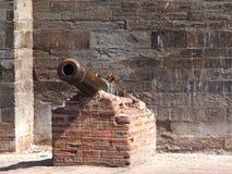 Παλαιό πυροβόλο Στοκ Φωτογραφία