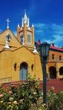 παλαιό πόλης watercolor εκκλησιών Στοκ φωτογραφία με δικαίωμα ελεύθερης χρήσης