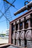 παλαιό πλέοντας σκάφος ξαρτιών Στοκ φωτογραφία με δικαίωμα ελεύθερης χρήσης