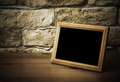 Παλαιό πλαίσιο φωτογραφιών στοκ φωτογραφίες με δικαίωμα ελεύθερης χρήσης