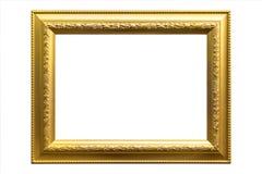 παλαιό πλαίσιο χρυσό Στοκ φωτογραφία με δικαίωμα ελεύθερης χρήσης