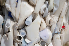 παλαιό πλαστικό μπουκαλ&i Στοκ Εικόνες