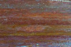 Παλαιό, ραβδωμένο, χρωματισμένο και ξεπερασμένο υπόβαθρο μετάλλων Στοκ Φωτογραφία