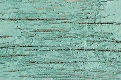 Παλαιό ραγισμένο τυρκουάζ χρώμα ζωηρόχρωμος λεπτομέρειας εξωτερικός τρύγος σύστασης σπιτιών παλαιός Στοκ Εικόνες