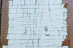 Παλαιό ραγισμένο τυρκουάζ χρώμα Στοκ εικόνα με δικαίωμα ελεύθερης χρήσης