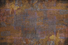 Παλαιό ραγισμένο χρώμα υποβάθρου τοίχων Στοκ Φωτογραφία