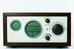 Παλαιό ραδιο ή παλαιό ραδιο κλασικό ξύλο Στοκ Φωτογραφίες