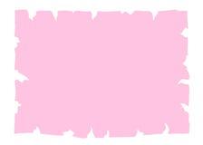 Παλαιό ροζ εμβλημάτων εγγράφου περγαμηνής διανυσματική απεικόνιση