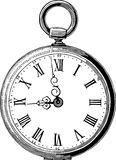 Παλαιό ρολόι τσεπών Στοκ εικόνες με δικαίωμα ελεύθερης χρήσης