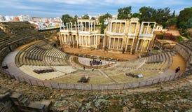 Παλαιό ρωμαϊκό θέατρο στο Μέριντα, Ισπανία Στοκ φωτογραφίες με δικαίωμα ελεύθερης χρήσης