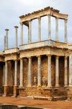 Παλαιό ρωμαϊκό θέατρο στο Μέριντα Στοκ Φωτογραφία