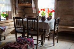 Παλαιό ρωσικό δωμάτιο Στοκ Φωτογραφίες