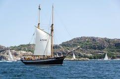 Παλαιό σκάφος πανιών Στοκ Εικόνες