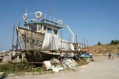 παλαιό σκάφος Στοκ Εικόνα