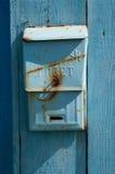 Παλαιό σοβιετικό ταχυδρομικό κουτί Στοκ εικόνα με δικαίωμα ελεύθερης χρήσης