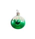 Παλαιό σοβιετικό shabby παιχνίδι χριστουγεννιάτικων δέντρων γυαλιού Στοκ Εικόνες