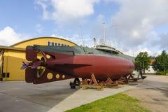 Παλαιό σουηδικό υποβρύχιο HMS Hajen Στοκ φωτογραφίες με δικαίωμα ελεύθερης χρήσης
