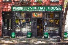 Παλαιό σπίτι αγγλικής μπύρας McSorleys στοκ εικόνα