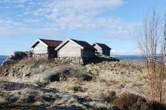 Παλαιό σπίτι βαρκών τρία Στοκ Εικόνες