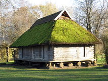 Παλαιό σπίτι, Λιθουανία Στοκ Εικόνες