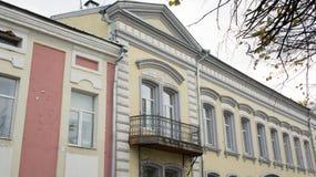 Παλαιό σπίτι σε Tver Στοκ εικόνες με δικαίωμα ελεύθερης χρήσης