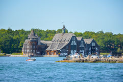 Παλαιό σπίτι στα νησιά και το Κίνγκστον του 1000 στο Οντάριο, Καναδάς Στοκ Φωτογραφία