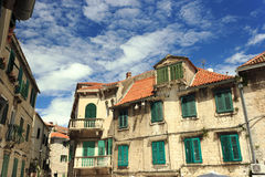 Παλαιό σπίτι στην Κροατία Στοκ Εικόνες