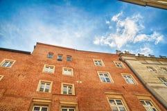 Παλαιό σπίτι στην πόλη Στοκ Φωτογραφία