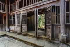 Παλαιό σπίτι του Βιετνάμ στοκ φωτογραφίες