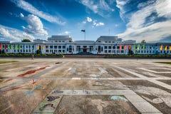 Παλαιό σπίτι του Κοινοβουλίου, Καμπέρρα, Αυστραλία Στοκ εικόνα με δικαίωμα ελεύθερης χρήσης