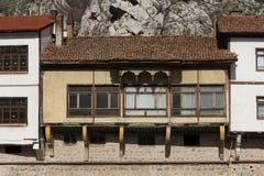 Παλαιό σπίτι Amasya Στοκ εικόνες με δικαίωμα ελεύθερης χρήσης