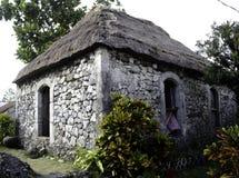 Παλαιό σπίτι Batanes Φιλιππίνες Ivatan Στοκ φωτογραφίες με δικαίωμα ελεύθερης χρήσης
