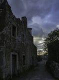 Παλαιό σπίτι, Plomin Στοκ φωτογραφία με δικαίωμα ελεύθερης χρήσης