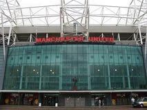 Παλαιό στάδιο Trafford. στοκ φωτογραφίες