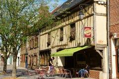 Παλαιό στο κέντρο της πόλης Beauvais Στοκ Εικόνες
