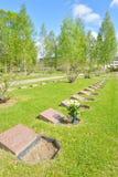 Παλαιό στρατιωτικό νεκροταφείο σε Lappeenranta Στοκ εικόνες με δικαίωμα ελεύθερης χρήσης