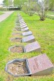 Παλαιό στρατιωτικό νεκροταφείο σε Lappeenranta Στοκ φωτογραφίες με δικαίωμα ελεύθερης χρήσης