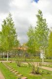 Παλαιό στρατιωτικό νεκροταφείο σε Lappeenranta Στοκ φωτογραφία με δικαίωμα ελεύθερης χρήσης